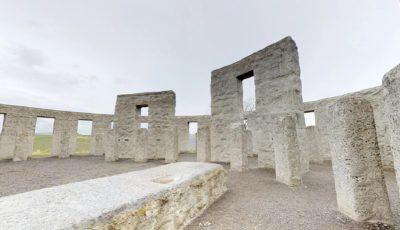 Maryhill Stonehenge 3D Model
