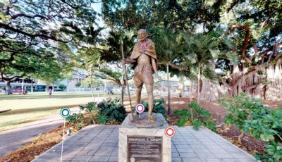 Gandhi Statue Waikiki 3D Model